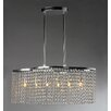 Warehouse of Tiffany Tee 6 Light Crystal Chandelier