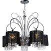 Warehouse of Tiffany Celeste 5 Light Crystal Chandelier