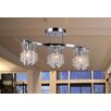 Warehouse of Tiffany Clee 3 Light Crystal Chandelier