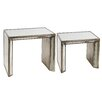 A&B Home Group, Inc 2 Piece Nesting Table Set