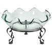 A&B Home Decorative Bowl with Stand