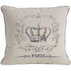 A&B Home Crown Pillow
