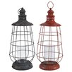 A&B Home Metal Lantern (Set of 2)
