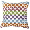 A&B Home Group, Inc Embroidered Cotton Lumbar Pillow