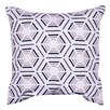 A&B Home Embroidered Cotton Throw Pillow