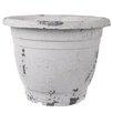 Plastic Pot Planter (Set of 2) Color: Cream - A&B Home Planters