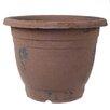 Plastic Pot Planter (Set of 2) Color: Taupe - A&B Home Planters