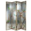 "A&B Home 18"" x 78"" Exotic Melodies 4 Panel Room Divider"