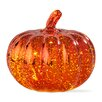 TAG Halloween LED Mercury Glass Pumpkin