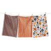 TAG 3 Piece Halloween Toss Dishtowel Set