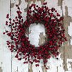 """Mills Floral Company 18"""" Multiberry Wreath"""