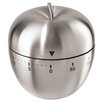 OGGI CORPORATION Stainless Steel Apple 60 Minute Kitchen Timer