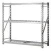 "Sandusky Cabinets Tread-plate Welded Rack 77"" H Three Shelves Shelving Unit"