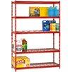 "Sandusky Cabinets Boltless Rivet 72"" H Five Shelf Shelving Unit"