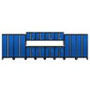 Sandusky Cabinets Modular 14-Piece System with Doors Storage Cabinet Set