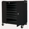 Sandusky Cabinets 16-Compartment Laptop Storage Cart