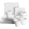 Verso Design Molina 18 Piece Porcelain Dinnerware Set