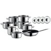 Josef Maeser GmbH Professional Home 8-Piece Stainless Steel Cookware Set