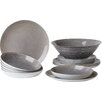 Luminarc Stonemania 19 Piece Dinnerware Set