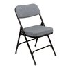 National Public Seating 3200 Series 2-Inch Thick Padded Folding Chair (Set of 2)