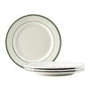 "Tuxton Home Green Bay 10"" Wide Rim Dinner Plate (Set of 4)"