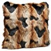 Donna Salyer's Fabulous-Furs Limited Edition Series Faux fur Throw Pillow