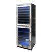 Vinotemp Mirrored 54 Bottle Dual Zone Built-In Wine Refrigerator