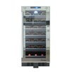 Vinotemp 33 Bottle Single Zone Built-In Wine Refrigerator