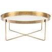 DwellStudio Vox Coffee Table in Gold