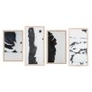 DwellStudio 4 Piece Franz Mondrian Framed Painting Print
