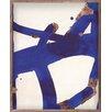DwellStudio Malta Grass Electric Blue by Franz Klein Painting Print