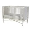DwellStudio Mid-Century 3-in-1 Convertible Crib in White