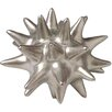 DwellStudio Urchin Matte Silver Objet