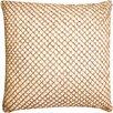 DwellStudio Beaded Diamond Rope Cotton Pillow Cover