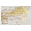 DwellStudio Gold Whispers Canvas Print
