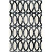 DwellStudio Moscow Rug in Ivory & Graphite