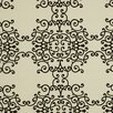 DwellStudio Soft Scrolls Fabric - Jet