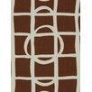 DwellStudio Lattice Graph Fabric - Copper