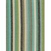 DwellStudio Striped Affair Fabric - Lime