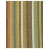 DwellStudio Striped Affair Fabric - Tangerine