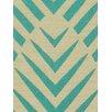 DwellStudio Palmwood Fabric - Turquoise