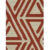 DwellStudio Triangle Maze Fabric - Currant