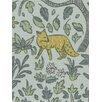 DwellStudio Folkland Fabric - Aquatint