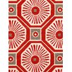 DwellStudio Kimono Fabric - Persimmon