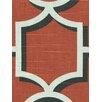 DwellStudio Vreeland Fabric - Persimmon