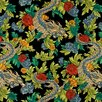 DwellStudio Ming Dragon Fabric - Admiral