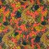 DwellStudio Ming Dragon Fabric - Persimmon