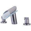LaToscana Morgana Double Handle Deck Mount Roman Tub Faucet Trim Grip Handle