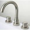 LaToscana Elba Double Handle Deck Mount Roman Tub Faucet Trim Lever Handle