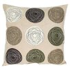 Wayborn Embroidered Patchwork Linen Throw Pillow